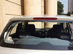 Stray Bullet, Reportedly From Police Firing Range, Hits Parked Car in Mumbai Suburb