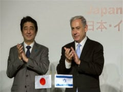 In Israel, Japanese Prime Minister Talks Business With Tough Line on Peace