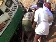 11 Dead as Bus Falls in a Gorge in Andhra Pradesh