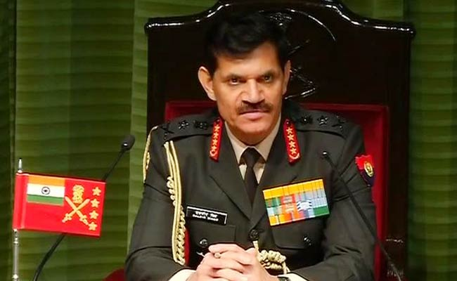 Threats Growing Due to Active Borders, Says Army Chief