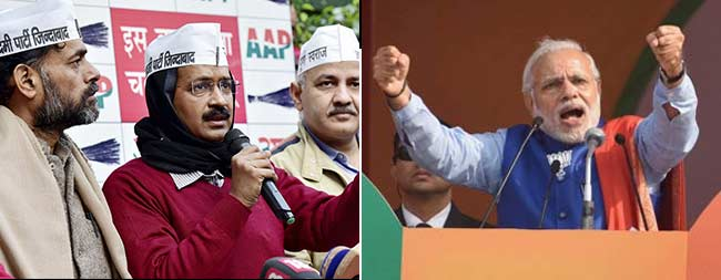 Arvind Kejriwal vs PM Modi. Delhi Election Dates to Be Announced Today