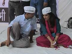 With a Retweet, AAP Chief Arvind Kejriwal's Swipe at Shazia Ilmi