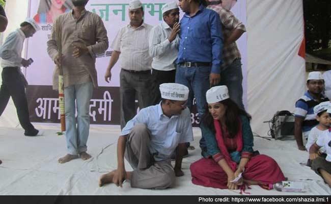 With a Retweet, AAP Chief Arvind Kejriwal's Swipe at Shazia Ilmi
