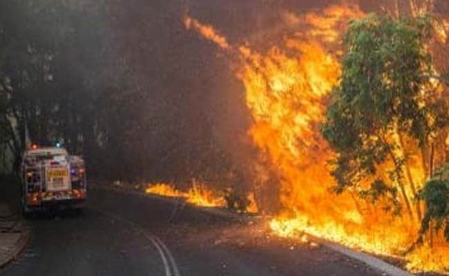 Australian Firefighters to Battle Bushfire in Heatwave