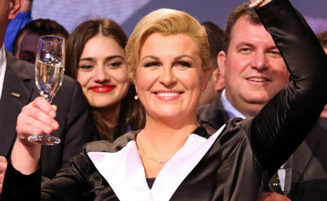 Conservative Elected Croatia's First Woman President