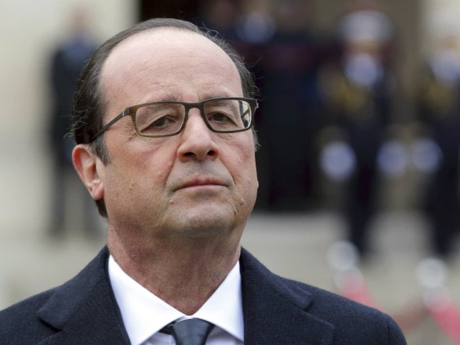 Sanctions on Russia Should End 'If Ukraine Progress': French President Francois Hollande