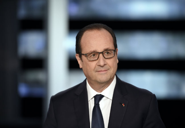 Francois Hollande Seeks to Pep Up French After 'Tough Year'