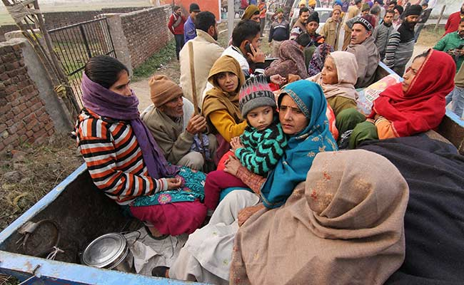 Intense, Unprecedented Shelling, Say People Fleeing Homes in Jammu