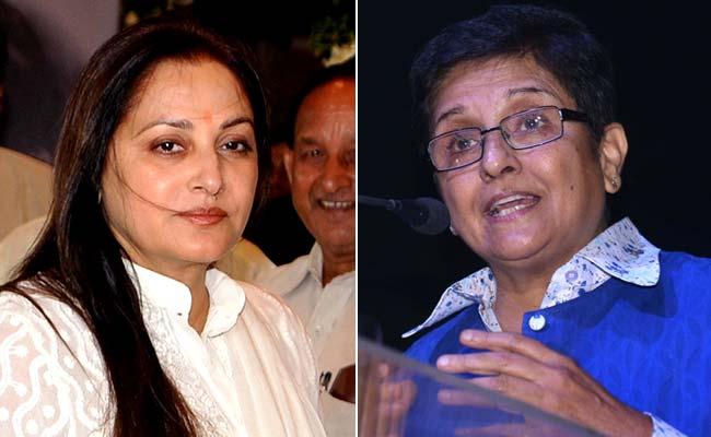 Former Top Cop Kiran Bedi, Actor-Politician Jaya Prada May Join BJP: Sources