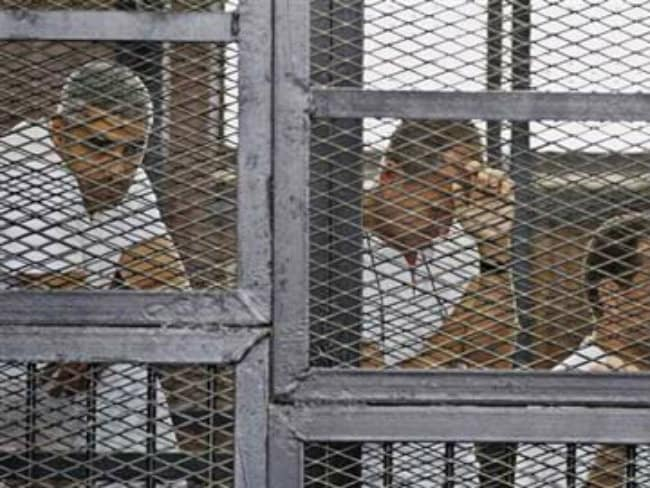 Egypt Court Hears Jailed Al-Jazeera Reporters' Appeal