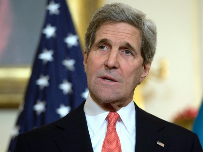 John Kerry Says Couldn't Attend Paris March Because Was Travelling