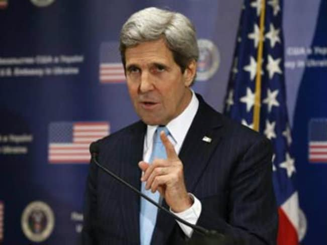 US Secretary of State John Kerry's Year of Diplomatic Dangers
