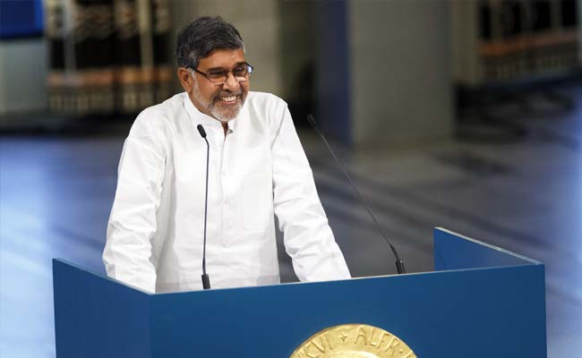 Kailash Satyarthi's Nobel Prize to be Put Up for Display at Rashtrapati Bhavan