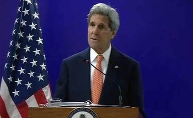 US Secretary of State John Kerry Speaking in Gandhinagar: Highlights