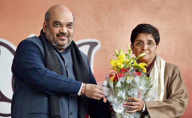 BJP's Big Delhi Catch: Kiran Bedi to Counter AAP's Kejriwal