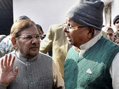 Sharad Yadav to Join Lalu Prasad in Protest Fast on July 26