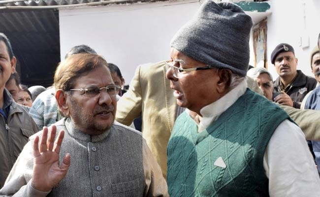 Leaders Gather at Lalu Prasad's Makar Sankranti Feast in Bihar