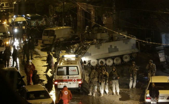 Islamic State Carried Out Lebanon Cafe Attack: Minister