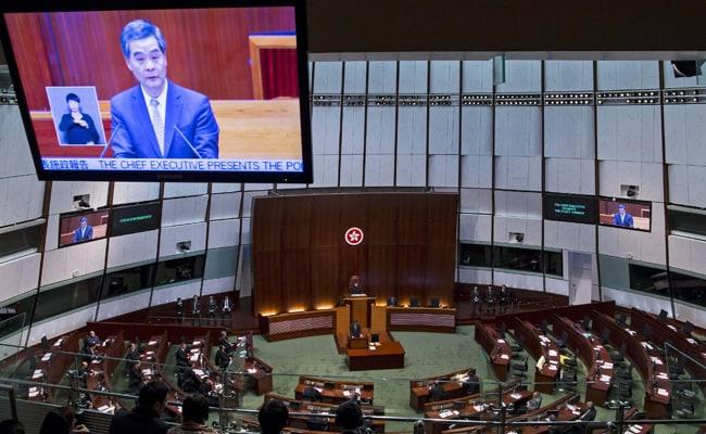 Hong Kong Leader Warns Democracy Activists of 'Anarchy'