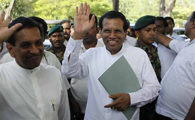 Dark Horse Maithripala Sirisena Set To Be Sri Lanka's President