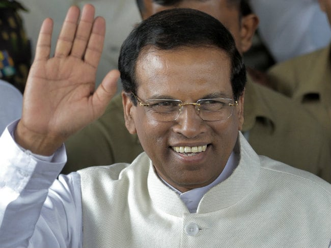 Sri Lanka's New President Maithripala Sirisena Takes Oath This Evening