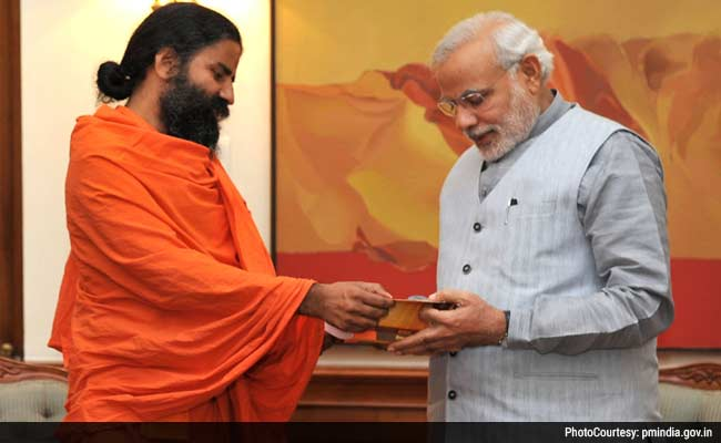 Yoga Guru Ramdev Made Haryana's Brand Ambassador