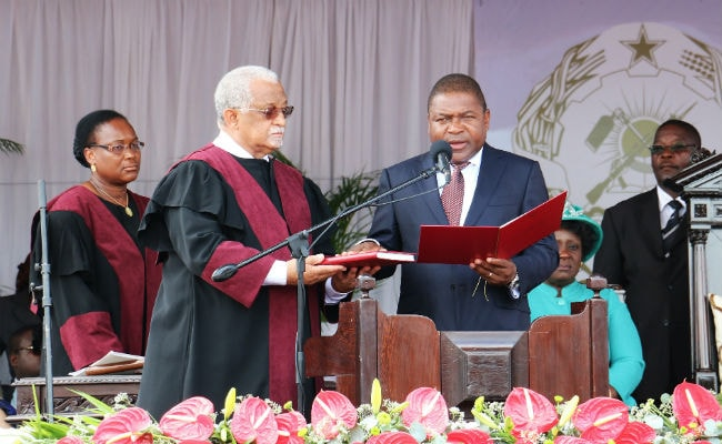 Opposition Boycotts Swearing-in of Mozambique's President