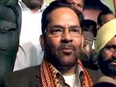 Union Minister Mukhtar Abbas Naqvi to Present Chadar at Ajmer Sharif on Behalf of PM Modi