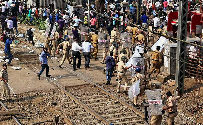 Violent Protests as Trains Run Late on Mumbai's Central Line