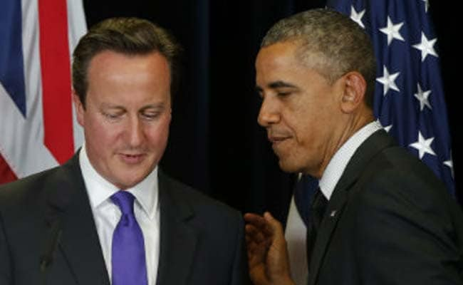 Barack Obama, British Prime Minister Meet Amid Specter of Terrorism in Europe, US