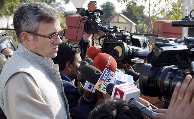 Omar Abdullah 'Deriving Sadistic Pleasure' Out of Indo-Pak Tensions: PDP