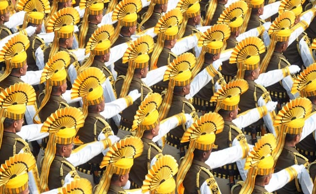 How High to Swing the Arms at Republic Day Parade Divides the 3 Services