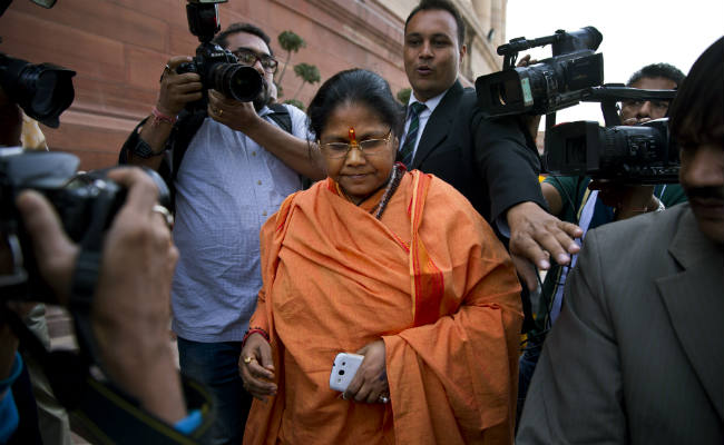 Sadhvi Niranjan Jyoti Gets VIP Security Cover