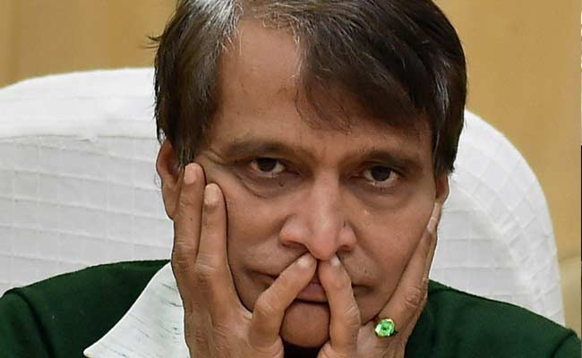 Suresh Prabhu Launches 3 Trains for Bihar, Bengal