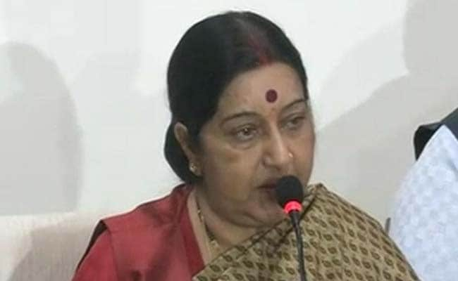 Foreign Minister Sushma Swaraj Dismisses Pakistan's Allegations Over Rangers' Deaths