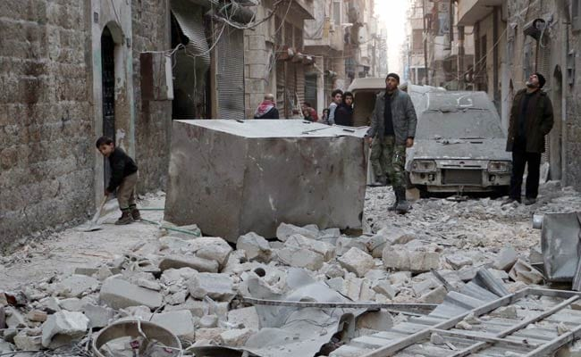 Syria War Deadliest in 2014 With 76,000 Killed: Monitor