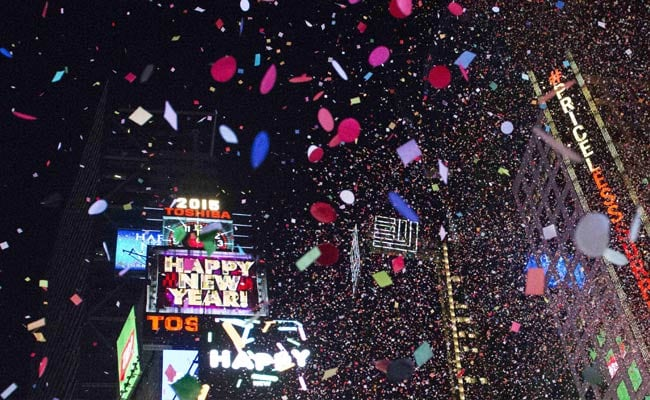 New York Rings in New Year With Heightened Security in Times Square