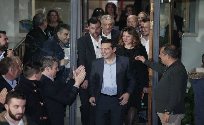 Greece Angered by Threat of Fresh Sanctions on Russia