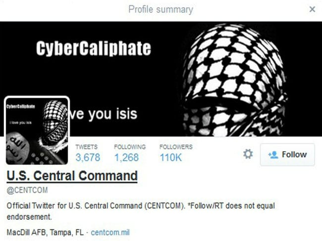 British Hacker Linked to Attack on Pentagon Twitter Feed: Sources