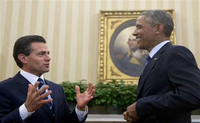 Barack Obama, Mexico's President Discuss US Shift Toward Cuba