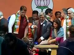 Former AAP Lawmaker Vinod Kumar Binny Joins BJP