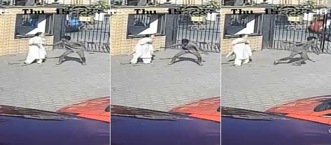 CCTV Shows Man Snatching Chain, Being Thrashed When Caught