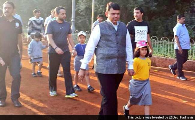 Father's Day Out: What Devendra Fadnavis Did Between Meeting Industrialists and Diplomats