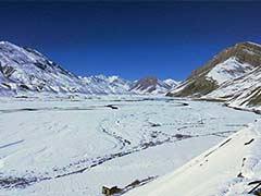 High Altitude Areas In Himachal Pradesh Receive Mild Snowfall