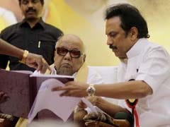 Karunanidhi is DMK Chief Again, Son Stalin Wants to 'Leap 32 Feet'