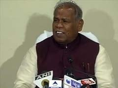 Jitan Ram Manjhi 'a Nominated Chief Minister, Not An Elected One': JD(U) Spokesman