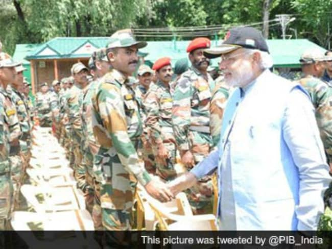 PM Modi Lauds Army's Indomitable Courage and Valour