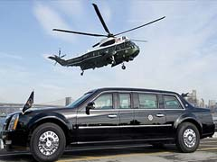 Obama's 'Beast' - a Fortress on Wheels That Can Withstand Bombs and Bullets