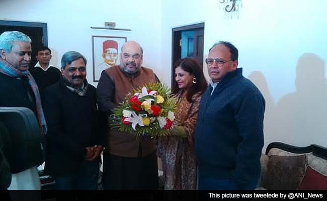 Shazia Ilmi Meets Amit Shah, Says Will be Joining the BJP Soon