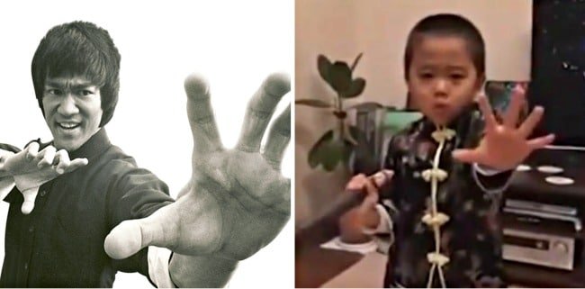 The Internet Thinks This 4-Year-Old is Kung Fu Legend Bruce Lee Reborn
